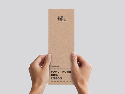IKEA Popup Hotel Meeting Invitation Proposal