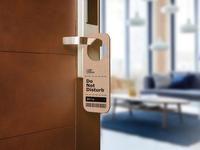 IKEA Popup Hotel Meeting Door Hanger