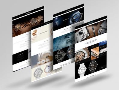 Blancpain Website Design
