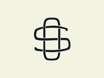 SO Monogram s o monogram branding logo
