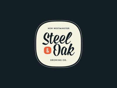 Steel & Oak Badge