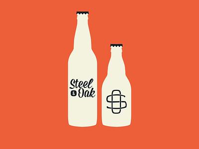Bottles bottles mission script losttype logo branding brewery new westminster bottle cap