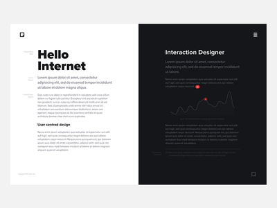 Portfolio typography ideas