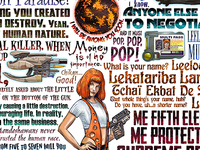 Fifth Element Tribute Print