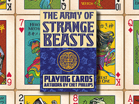 Strange Beasts Playing Cards