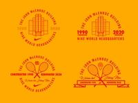 Unused Concepts swoosh nike tennis logo sports logo sports