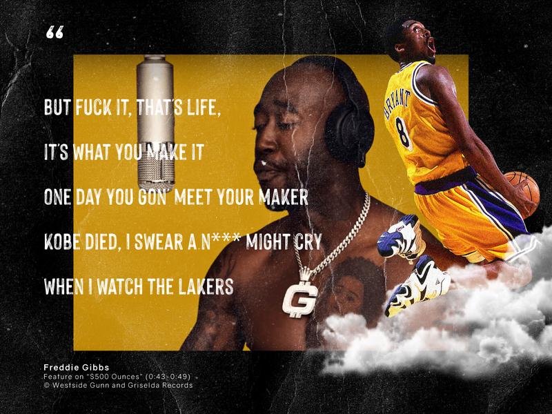 Freddie Gibbs hip-hop hiphop rap california los angeles lakers los angeles la sports nba basketball kobe