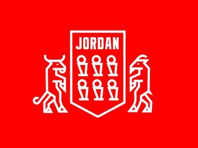Jordan Family Crest logo sports badgedesign michael jordan badge family crest chicago bulls chicago nba nike baskebtall jordan mj dribbble dribbbleweeklywarmup weekly weekly challenge weekly warm-up weeklywarmup