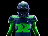 Seahawks Jersey pattern logo jersey football logo pnw washington seattle rebrand football nfl