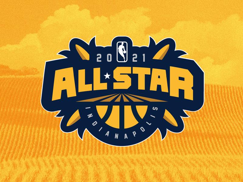 NBA All-Star Indianapolis sports design branding sports branding logo sports logo sports indiana basketball nba