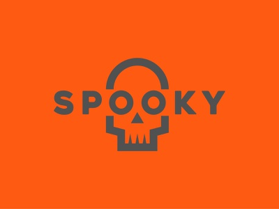 Spooky wordmark design halloween spooky logo weeklywarmup weekly challenge weekly warm-up weekly
