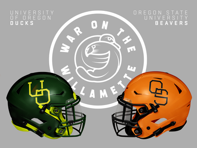 War on the Willamette branding rebranding rebrand college football college sports sports branding sports logo sport sports sports design uniform design uniforms uniform college pnw pdx portland ncaa oregon football