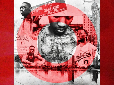 Oakland's Own bay bayarea westcoast 503 pnw trailblazers nba california oakland portland oregon basketball sports