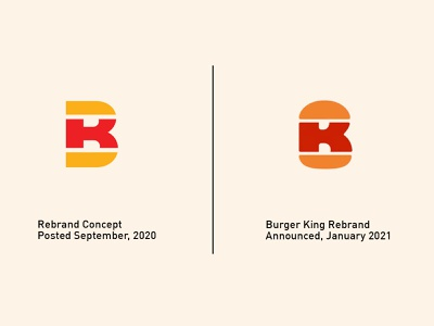 BK Rebrand branding design branding and identity monogram logo monogram logo design burger logo logodesign logos logo brand design branding brand brand identity rebranding rebrand burger king burgerking