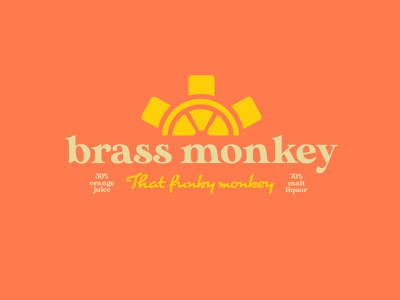 Brass Monkey rap hiphop alcohol branding alcohol beer branding beer label beer can beer beverage design beverage logo beverage logo design logodesign logotype logos logo