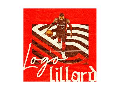 Logo Lillard design portlandia trailblazers blazers playoffs pdx portland adidas oregon nba basketball sports