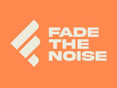 Fade the Noise podcast logotype brandidentity branddesign branding logodesign identity sports logo