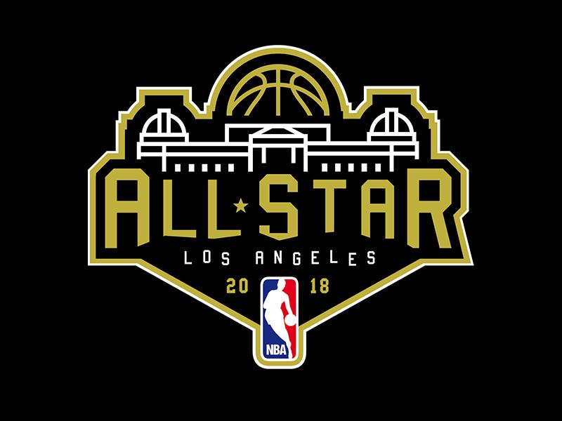 LA All-Star Concept basketball nba california angeles los la