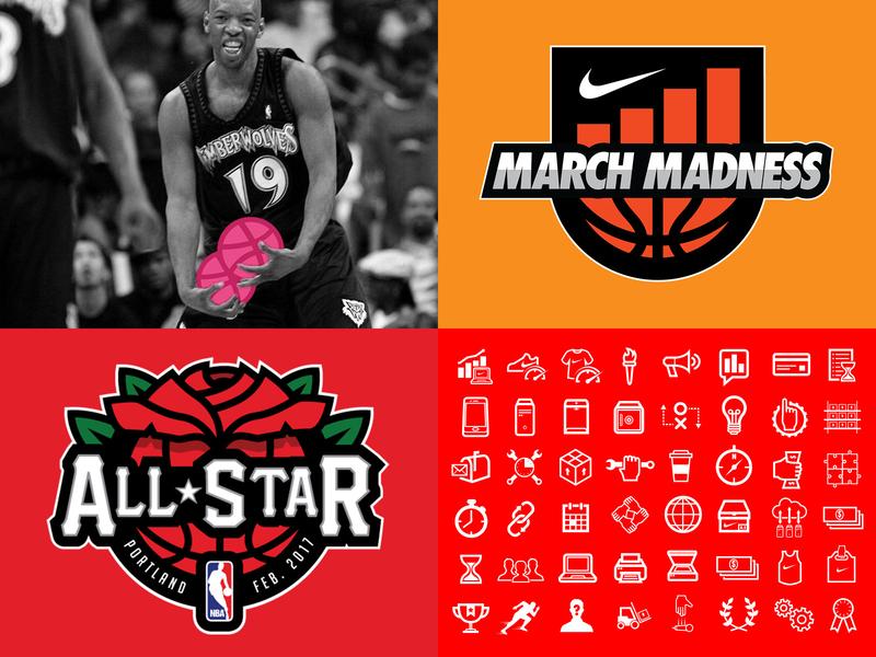 2018 pdx design logo all-star sports portland oregon nike nba basketball