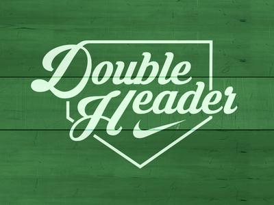 Double Header mlb baseball nike