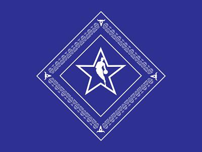Dallas All-Star Alt Logo texas allstar basketball nba dallas mavericks dallas