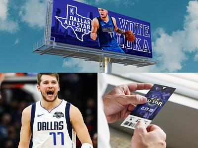 Dallas All-Star Mockups luka dallas mavericks texas allstar nike basketball nba dallas