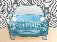 """Blue Car"" single artwork"