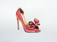 Patent haute couture stilettos