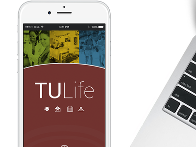 Trinity University App mobile iphone app branding icons launch image