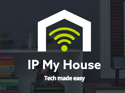 DIY Tech Website logo website tech house wifi ui design