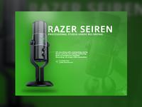 Razer Seiren Advertisement