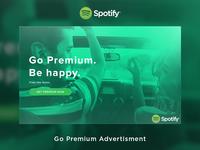 Spotify Premium Advertisement #Daily