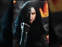 Wonder Woman Movie Poster Design