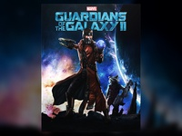 Marvel Guardians of the Galaxy 2 Movie Poster