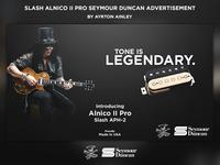 Slash Seymour Duncan Pickup Set Advertisement