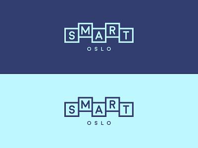 Smart Oslo logo concept smart branding logo oslo