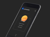 Appinventiv homepage - mobile view