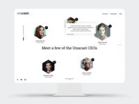 Unacast careers microsite