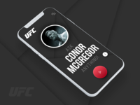 UFC Video Questioning App concept