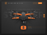 Staaker landing page
