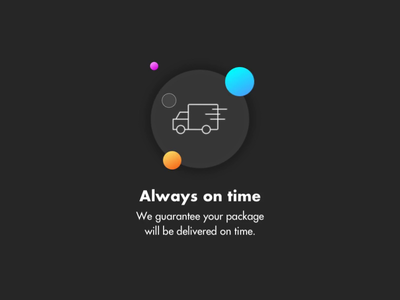 Feature - micro interaction parallax animation features