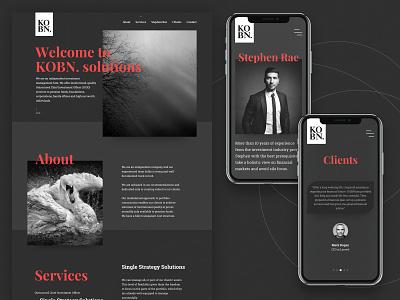 KOBN - financial advisor agency advisory dark website finance financial