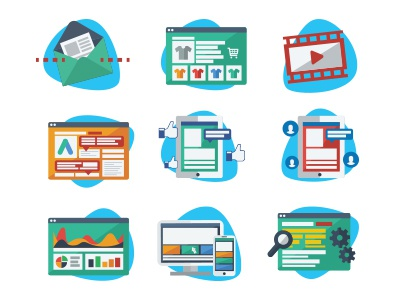 Icons for Brochure