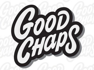 Goodchaps logo design nz chaps good