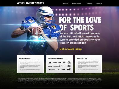 Steele Homepage design