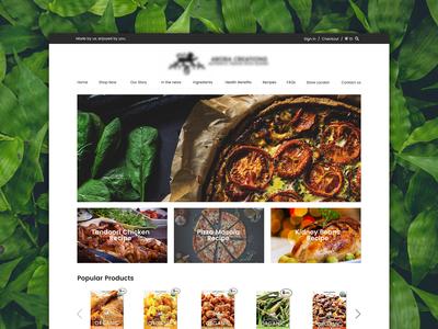 Organic Spice Blends Website