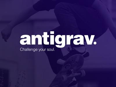 Antigrav® logo concept