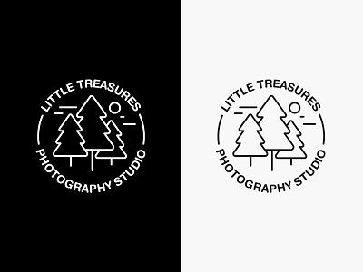 Little Treasures Logo brand development photography logo logo design photography branding photography logo brand and identity