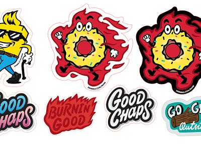 FREEBIES! Mascot Design for Good Chaps graphic design vector logo illustration