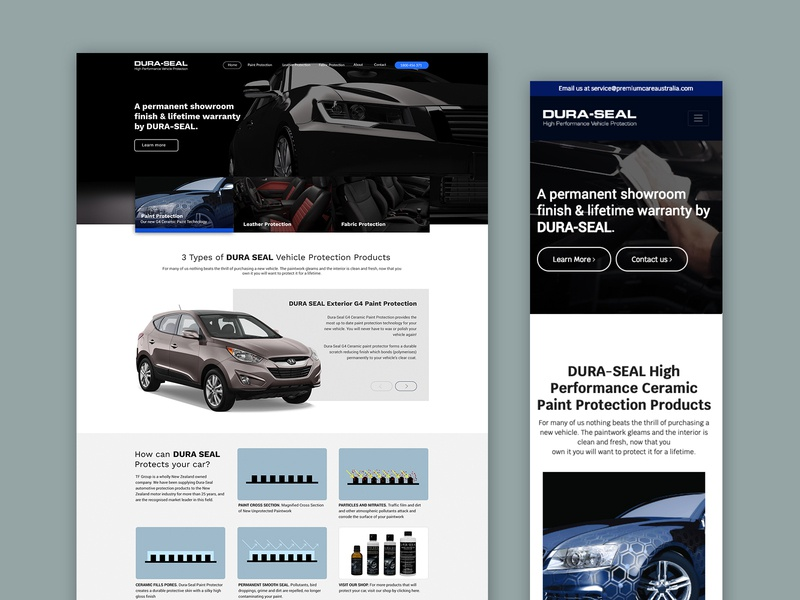 DURA-SEAL Website